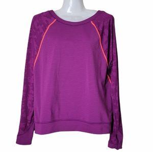Lululemon Run For Days Long Sleeve Top Purple 6